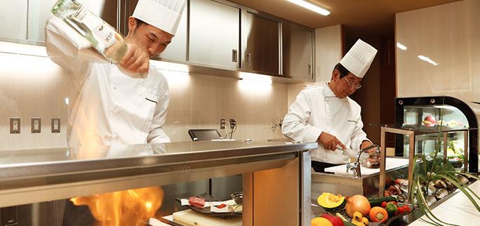 オープンキッチン イメージ
