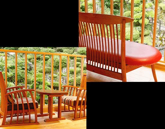 無垢板の特別な家具